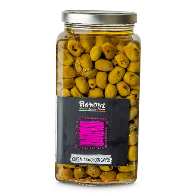 Olive Con Capperi Alla Brace Ml212*6