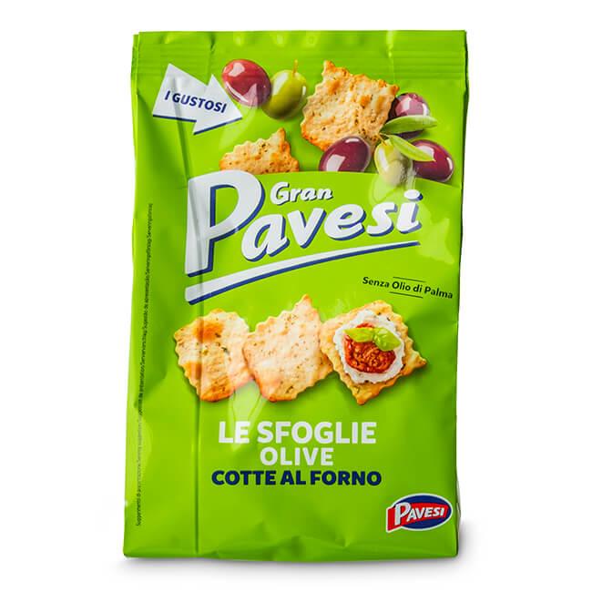 Pavesi Sfoglie Olive 160gr*12