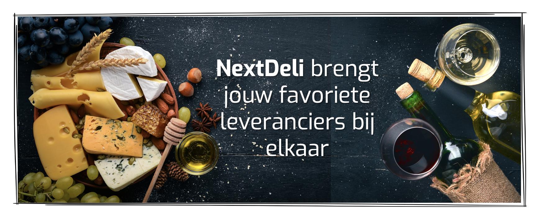 NextDeli opent haar Delicatessenwereld