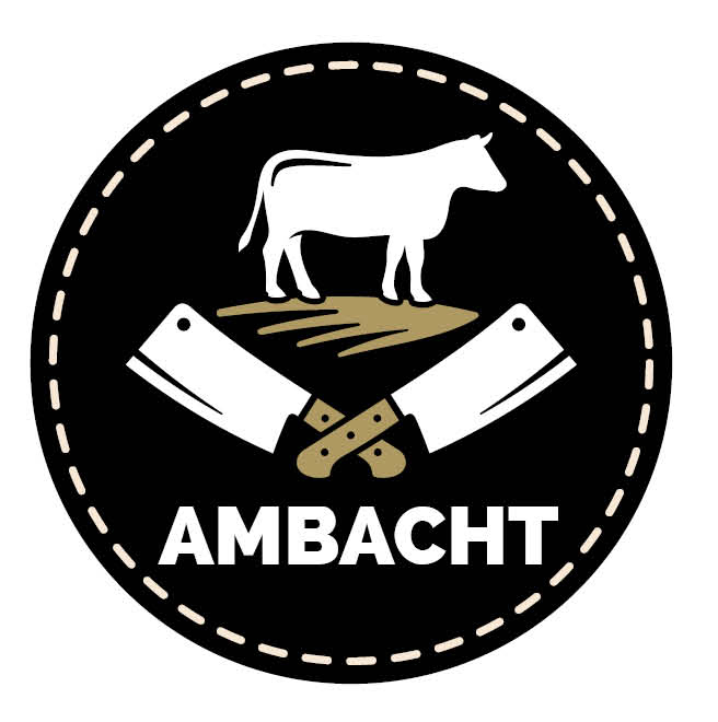 Sticker 'Ambacht slager' /50mm